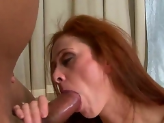 Every guy on the planet wanted to feel really experienced woman like Chloe. This sexy milf takes Sledge Hammers 10-Pounder really deep. This babe has large experience in sucking large dicks.