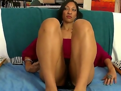 MILF from out of town gets well fucked. Staring Sophia Diaz. This is hardcore interracial hot creamy sex. This dark haired beauty is soon on her knees engulfing on a big cock. watch her ass and titties wobble as she then gets a real hard pounding doggy style.
