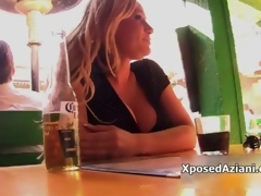Sexy blonde babe gets horny taking movie 3