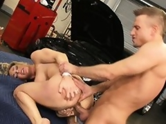 The mechanics tool acquires lost here the sexy box of slutty Tanya Tate