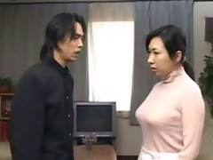 japanese mother acquire d by son coupled with cums inner her