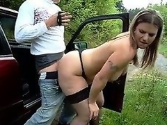 Large irritant german - amateur outdoor