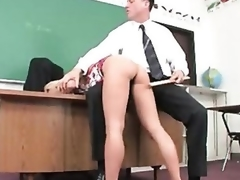 Juicy schoolgirl captured and fucked by lustful aged stud